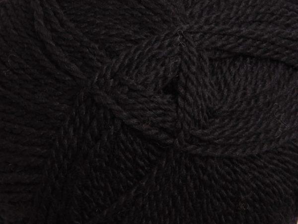 Ashford Tekapo Yarn - Black