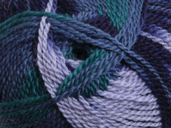 Ashford Tekapo Random Dyed Yarn - Aqua Marine