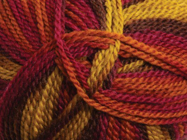 Ashford Tekapo Random Dyed Yarn - Moroccan