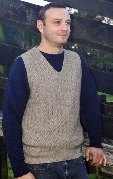 Possum Merino Men's 9800 Pullover Vest