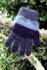 Possum Merino Child's CK602 Striped Glove