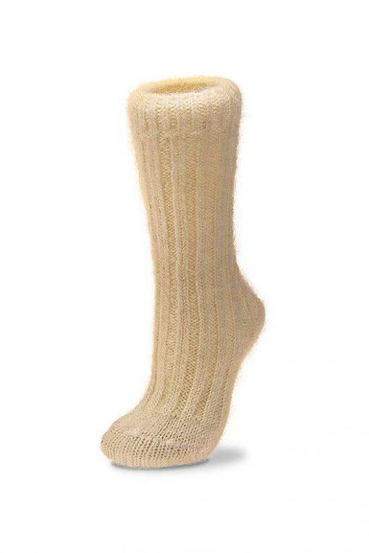 Mohair Socks Cream