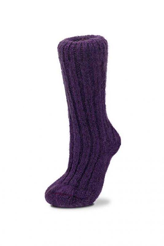 Mohair Socks Grape