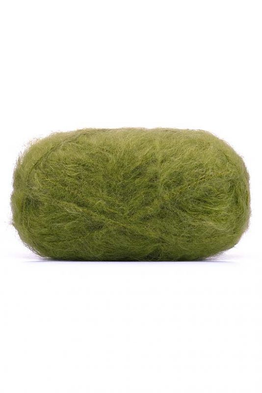 Mohair Yarn Chartreuse