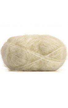 Mohair Yarn Cream