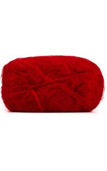 Mohair Yarn Red
