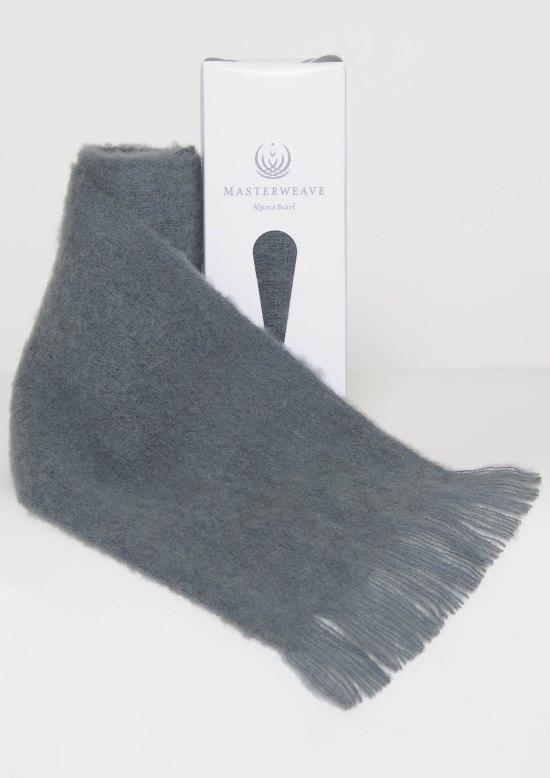 Alpaca Grey Scarf